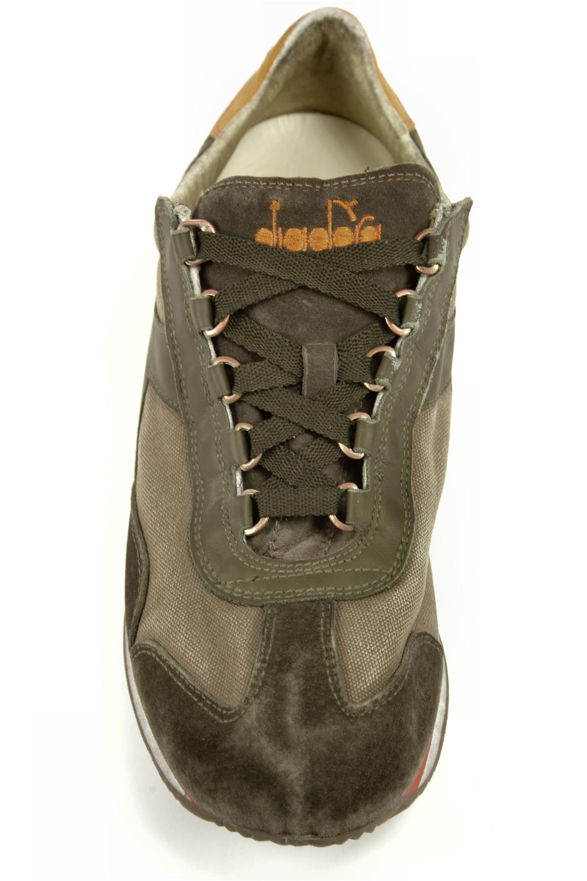 Equipe SW Dirty Fossil Tarmac Olive Green Grey DIADORA heritage Sneakers c71f4010a5