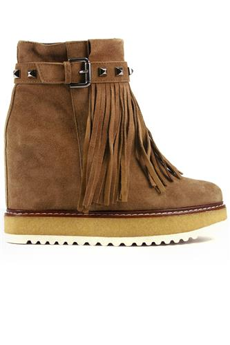 40229755d9ff Via Altaseta Camel Suede Crepe BELLE VIE Ankle Boots   Boots